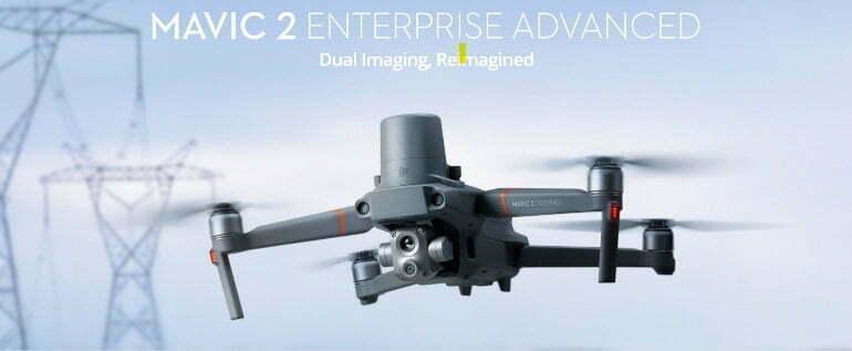 Introducing the DJI Mavic 2 Enterprise Advanced